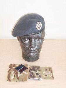 RAF Beret, Badge, MTP Brassard & SAC ( Tech ) Rank Slides. Size 54cm.