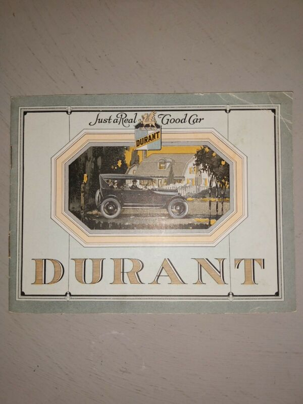 Durant Automobile Advertising Flyer