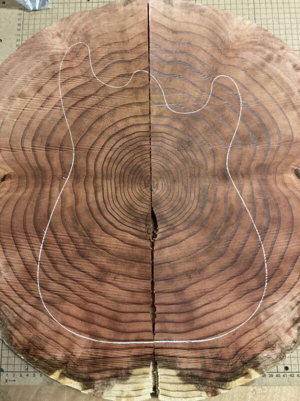 Redwood End Grain Guitar Tops