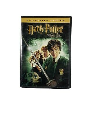 Harry Potter and the Chamber of Secrets (DVD, 2003)