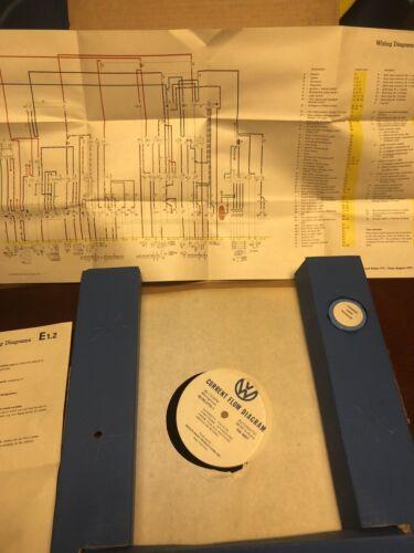 "Volkswagen Dealer Training Kit "" Current Flow Diagram "" 42-00-2775-1"