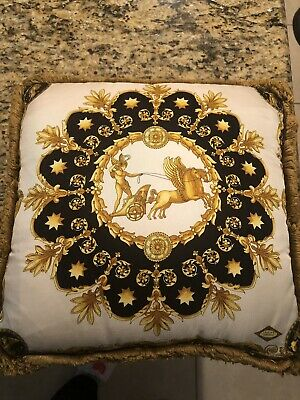 VERSACE CHARIOT SILK  PILLOW