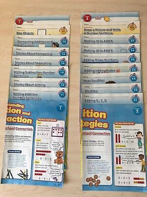 Set of 2nd Grade enVision Math Lessons & Tests (140 Lessons & 20 Tests)