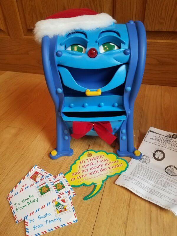 Telco MEL BOX The Talking Singing Christmas Mailbox Animated Illuminated Music