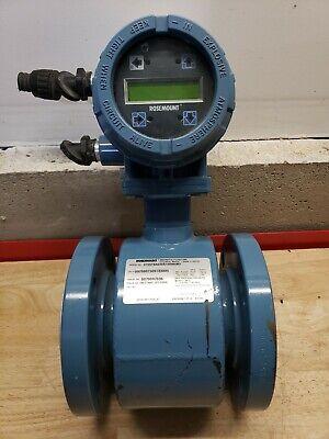 Rosemount 4 Magnetic Flowtube 8705tsa030s1won0b3 8732c Smart Familyused