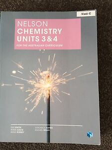 Year 12 chemistry text book Mosman Park Cottesloe Area Preview