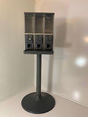 Vendstar 3000 - Bulk Candy Vending Machine - Used - Triple-head - No Keys