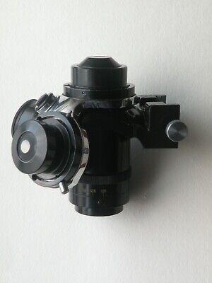 Carl Zeiss Jena Microscope Pancratic Condenser A-14 Darkfield Low-power