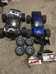 RTR BRUSHLESS rc car. With parts