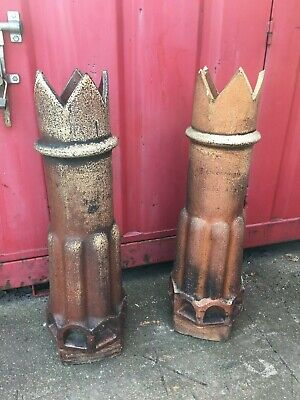 RECLAIMED VICTORIAN CHIMNEY POTS VARIOUS STYLES AVAILABLE WEST YORKSHIRE
