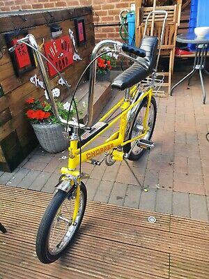 Raleigh chopper MK2 Yellow Bike - Fully Restored