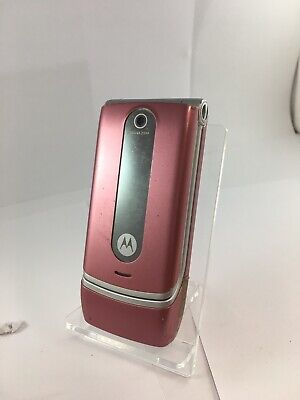 Motorola W377 Pink Unknown Network Mobile Flip Phone