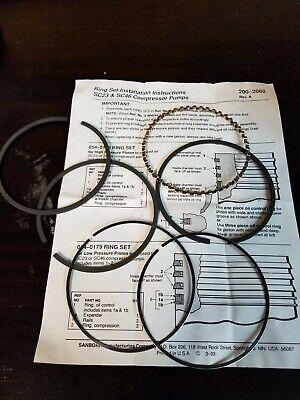 Sanborn Low Pressure Piston Ring Set 054-0179