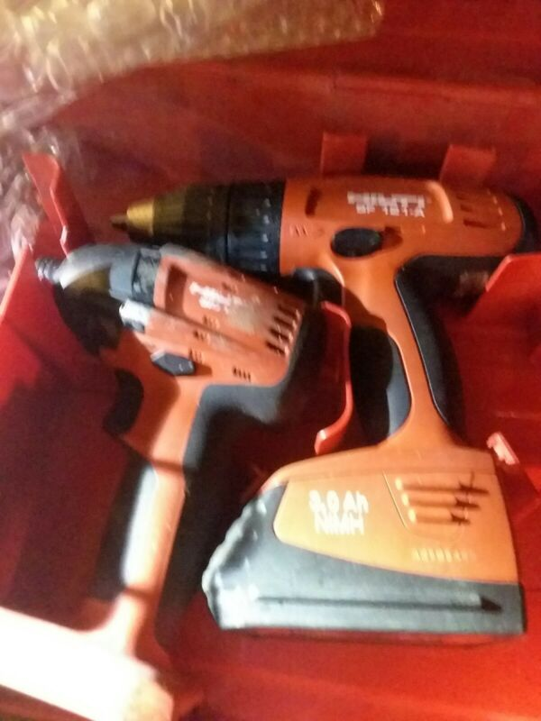 Hilti sf 121-a with SID 18-A 1/4 Impact Kit 2 Chargers  2 batts