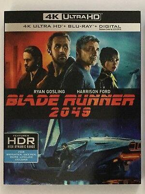 Blade Runner 2049 4K Blu Ray Digital Brand New Free Frist Class Shipping