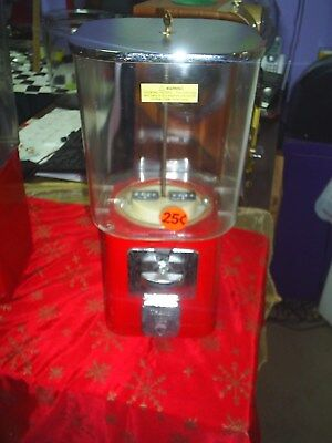 Used, 1960 Oak acorn gum / candy machine works on a quarter comes with lock and key for sale  Franklinton