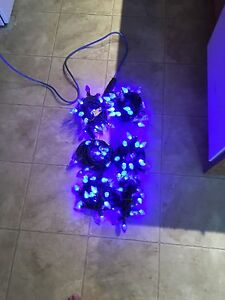 Outdoor Xmas lights Used LED