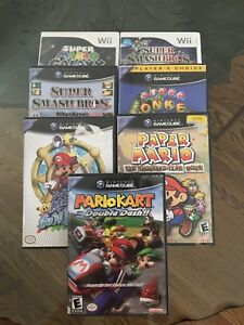 GAME CUBE & Wii GAMES GREAT CONDITION SUPER SMASH BROS MELEE +