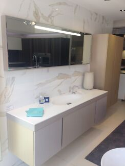 Bathroom Vanity, Tall Storage unit and mirror Subiaco Subiaco Area Preview