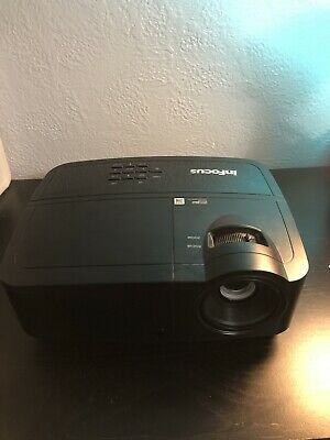 InFocus IN114a DLP Projector 3,000 Lumens LOW LAMP HOURS! Hdmi