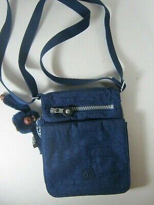 Kipling El Dorado AC8457 Ink Blue Bag Purse NWT $49