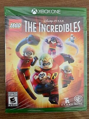 NEW XBox One Lego Disney The Incredibles SEALED Complete Canada Microsoft XBOX 1