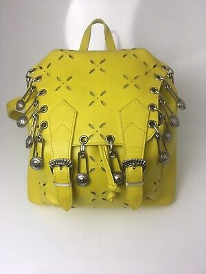Rare Color backpack Bag Gianni Versace Yellow Iconic Vintage
