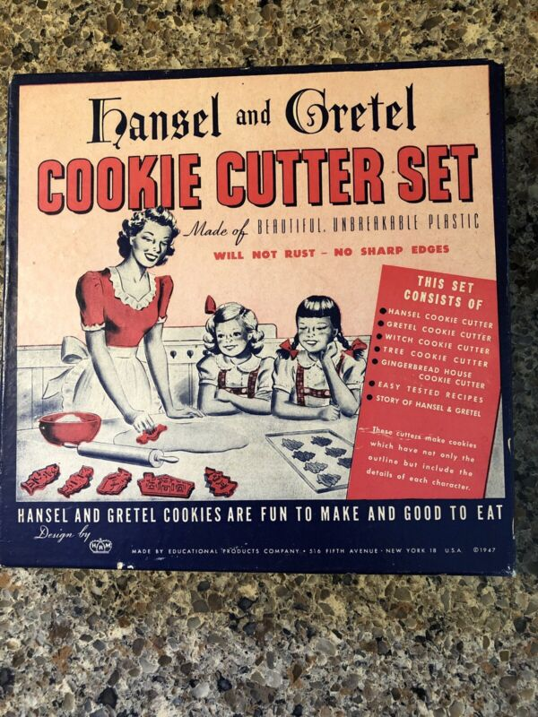HRM Vintage Hansel and Gretel COOKIE CUTTER SET