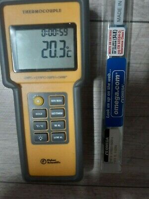 Fiscer Scientific Thermocouple Test Instrument Omega Htmqss-062u-6 Themoocouple