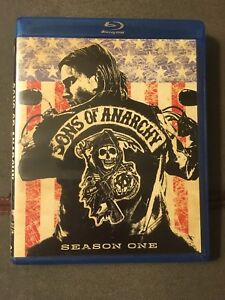 Blu ray sons of anarchy 3-disc complete season one
