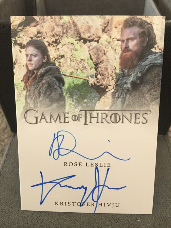 Game Of Thrones Season 6 Beautiful Death Chase Card BD45 Kill The Boy