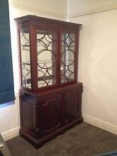 Antique mahogany display cabinet Brighton East Bayside Area Preview