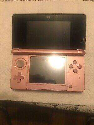 Nintendo 3DS Pink (NO CHARGER)