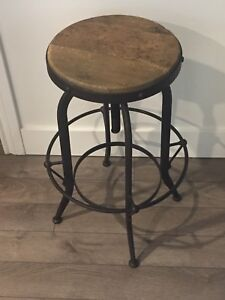 Industrial counter stool purchased from Elte