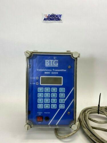 BTG Consistency Transmitter MEK-2200