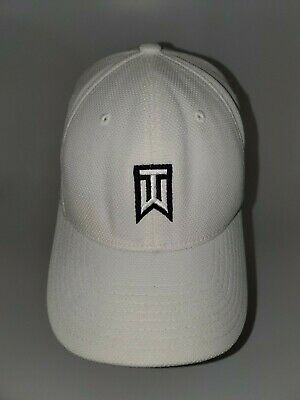 0c8900613f85a TIGER WOODS NIKE FLEXFIT GOLF HAT CAP Z1