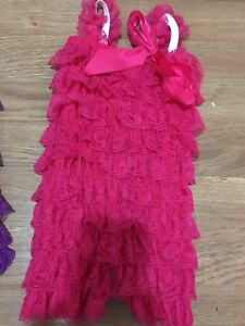 Pink and purple are size 0-9m and white is 9-12m