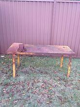 Steel work bench Kellyville Ridge Blacktown Area Preview