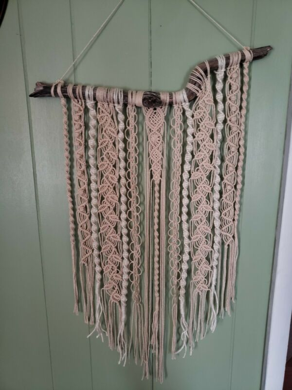 Handmade Macrame Wall Art Decor Art Gift