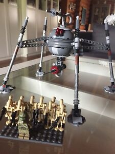 75142 Lego Star Wars Homing Spider w/9 xtra Battle droids