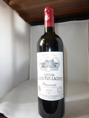 Chateau Grand Puy Lacoste Rot Wein 2012 Pauillac
