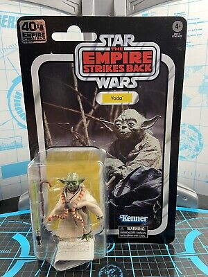 "Star Wars ESB 40th Anniversary Black Series YODA 6"" Action Figure Retro Vintage"