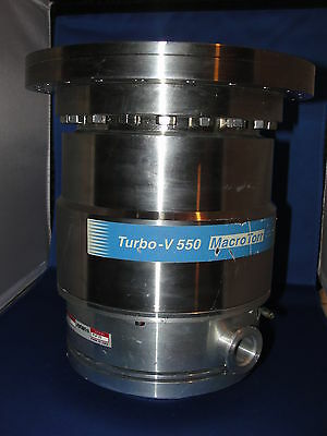 Varian Turbo-v 550 Macrotorr Vacuum Pump Model 969-9050