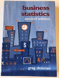 Business Statistics by Greg Dickman Cabramatta Fairfield Area Preview
