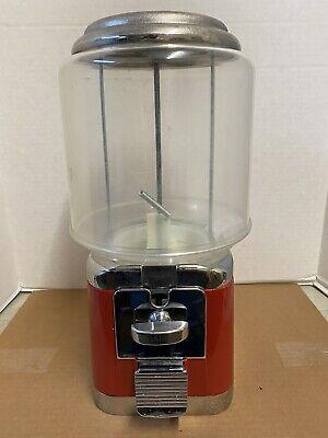 REFINISHED VINTAGE STYLE OAK Acorn Gumball Machine