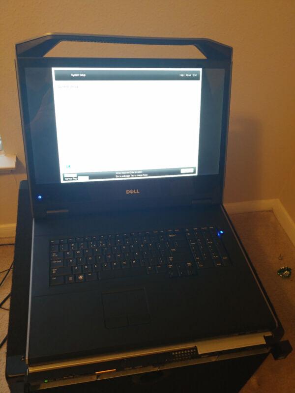 "Dell FPM185 1U 18.5"" Rackmount KMM Console"
