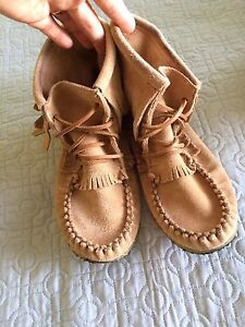 Soft moc. Mocassins -great condition  like new