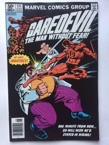 Daredevil 171 FN/VF, Kingpin! Bullseye appearance, Frank Miller art