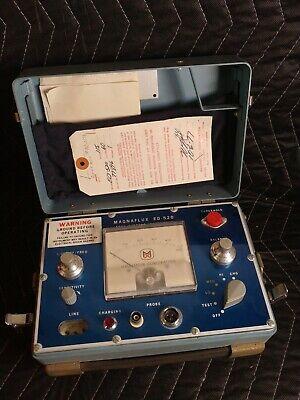 Magnaflux Ed-520 Inspection Unit Test Equipment - Eddy Current Instrument