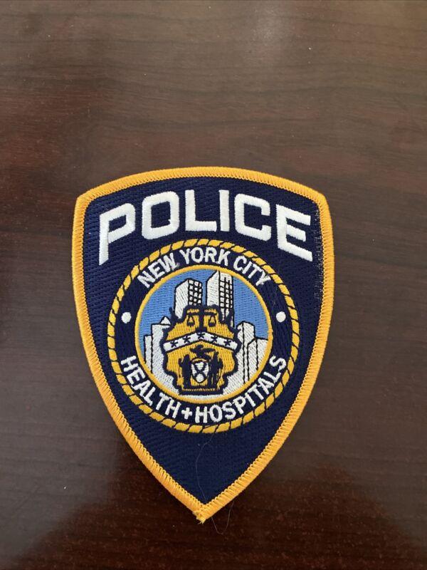 New York City Hospital Police Patch